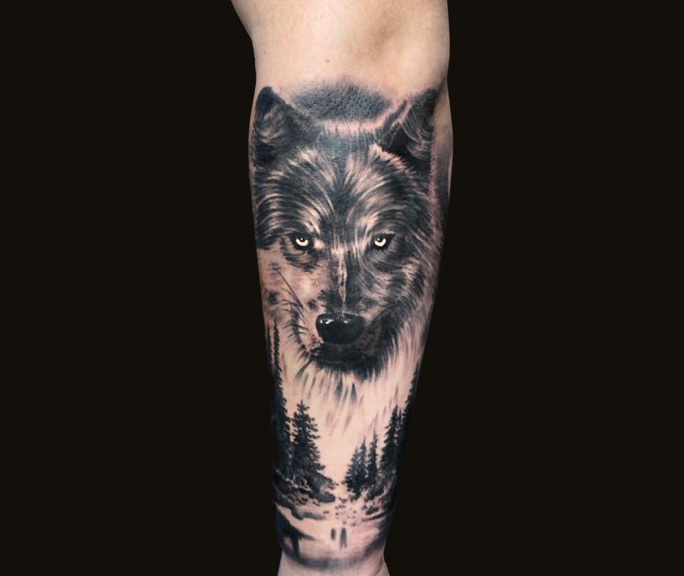 Portfolio of our tattoo artist Oksana, who specializes in black & gray and realistic tattoos